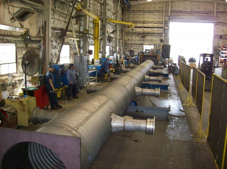 Furnace Muffle Fabrication